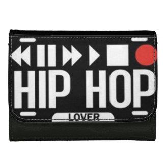 Cartera de cuero de Hip Hop