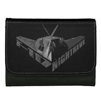 Cartera de cuero media del Nighthawk F-117