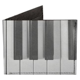 Cartera de encargo de Tyvek del teclado de piano Billeteras Tyvek®