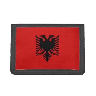 Cartera de la bandera de Albania