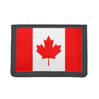 Cartera de la bandera de Canadá
