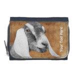 Cartera de la foto de la cabra de Nubian