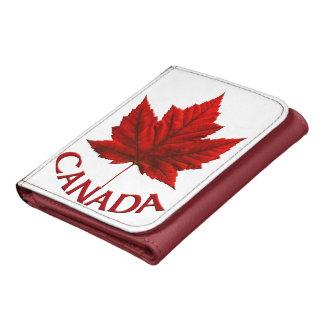 Cartera de la hoja de arce del recuerdo de Canadá