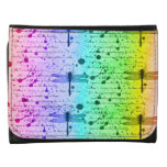 Cartera de la libélula del arco iris