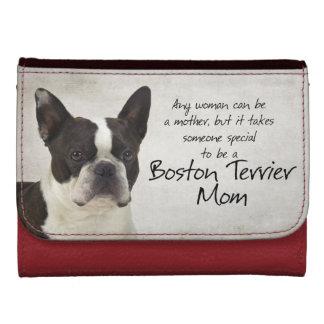 Cartera de la mamá de Boston Terrier