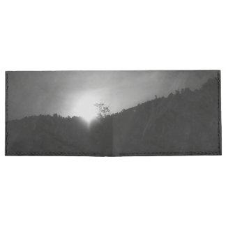 cartera de la salida del sol de la montaña billeteras tyvek®