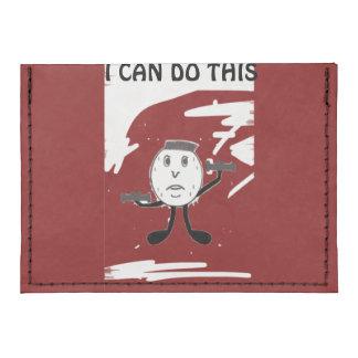 Cartera de la tarjeta del humor del levantamiento tarjeteros tyvek®