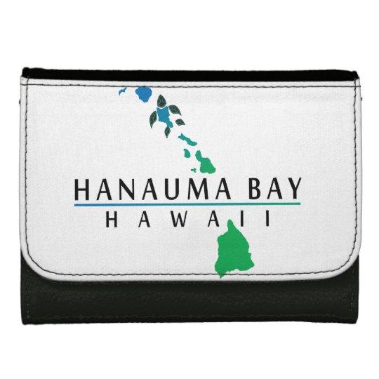 Cartera de la tortuga de Hawaii de la bahía de Han