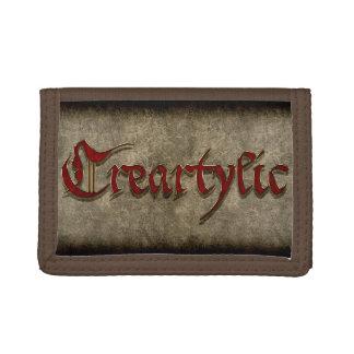 Cartera de nylon cinemática de Creartylic