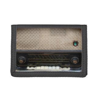 cartera de radio vieja del vintage