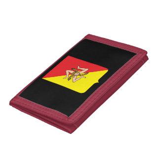 Cartera del escudo de armas de Sicily*