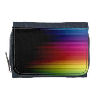 Cartera del modelo de la lluvia del arco iris