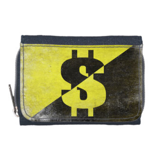 Cartera del monedero con el Anarcho-Capitalista fr