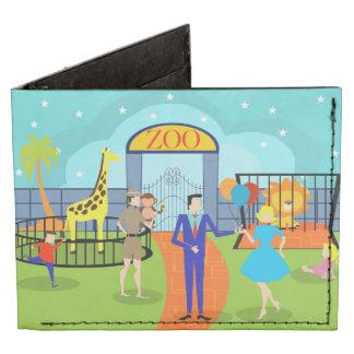 Cartera del parque zoológico del vintage billeteras tyvek®