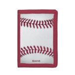 Cartera del personalizado del béisbol