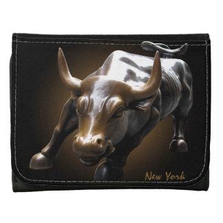 Cartera del recuerdo del personalizado NY Bull de