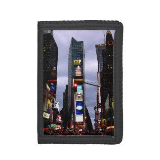 Cartera del recuerdo del Times Square de la carter