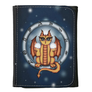 Cartera del zodiaco del libra del dragón