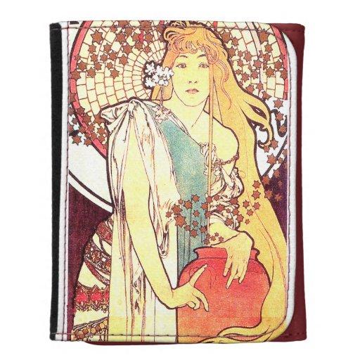 Cartera floral de los años 20 de las mujeres de