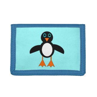 Cartera linda del pingüino