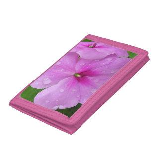 Cartera - nilón - Impatiens rosado