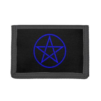 Cartera pagana de Wiccan del Pentagram del pentácu