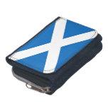 Cartera patriótica con la bandera de Escocia