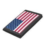 Cartera patriótica, especial con la bandera de los