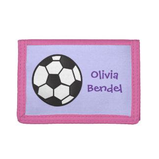 Cartera personalizada del fútbol del fútbol de los