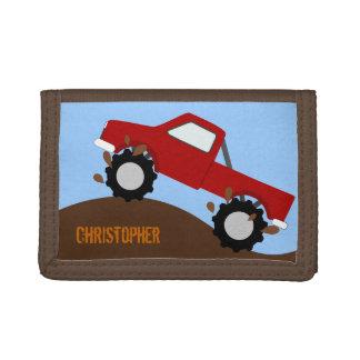 Cartera personalizada monster truck
