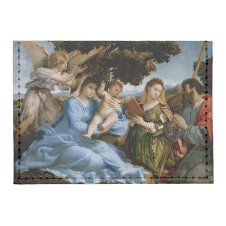Cartera religiosa de la tarjeta del arte tarjeteros tyvek®