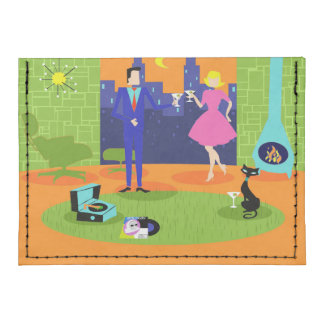 Cartera romántica retra de la caja de tarjeta de tarjeteros tyvek®