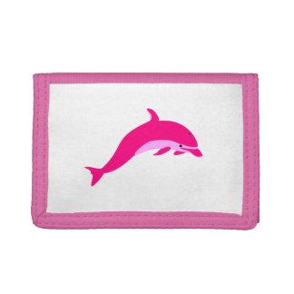 Cartera rosada del delfín