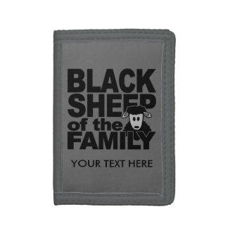 Carteras del personalizado de las ovejas negras