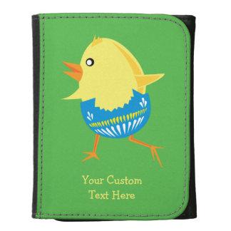 Carteras del personalizado del polluelo de Pascua