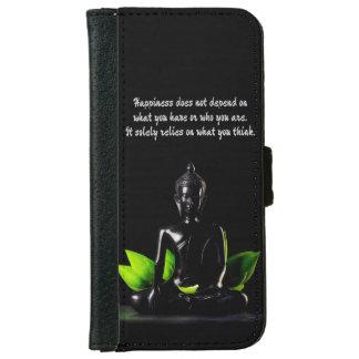 Carteras del teléfono de la cita 4 de Buda Funda Cartera Para iPhone 6