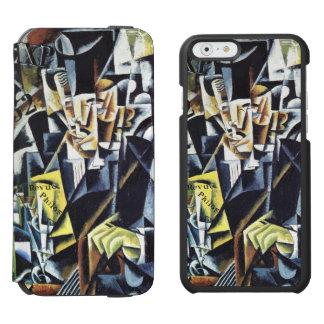 Carteras del teléfono del arte de Popova Funda Billetera Para iPhone 6 Watson