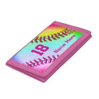 Carteras multicoloras frescas del softball para el