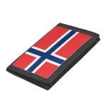 Carteras y monederos noruegos de la bandera