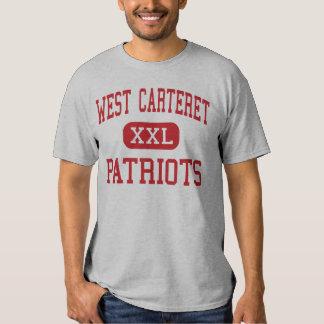 Carteret del oeste - patriotas - alto - ciudad de remeras