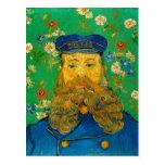 Cartero José Roulin (F439) del retrato de Van Gogh Tarjeta Postal