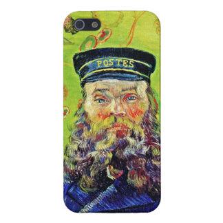 Cartero José Roulin Vincent van Gogh del retrato iPhone 5 Carcasas
