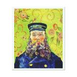 Cartero José Roulin Vincent van Gogh del retrato Impresión En Lona