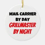 Cartero por el día Grillmaster por noche Adorno De Reyes