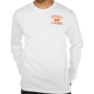 Carterville - leones - alto - Carterville Illinois Camiseta