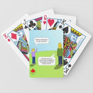 Cartes à jouer Maman Bicycle Playing Cards