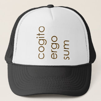 Cartesian Cogito Trucker Hat