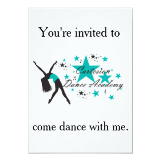Cartesion Dance Party Invitation