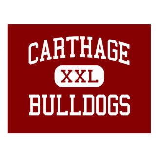 Carthage - Bulldogs - High School - Carthage Texas Postcard