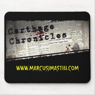 Carthage Chronicles Mousepad